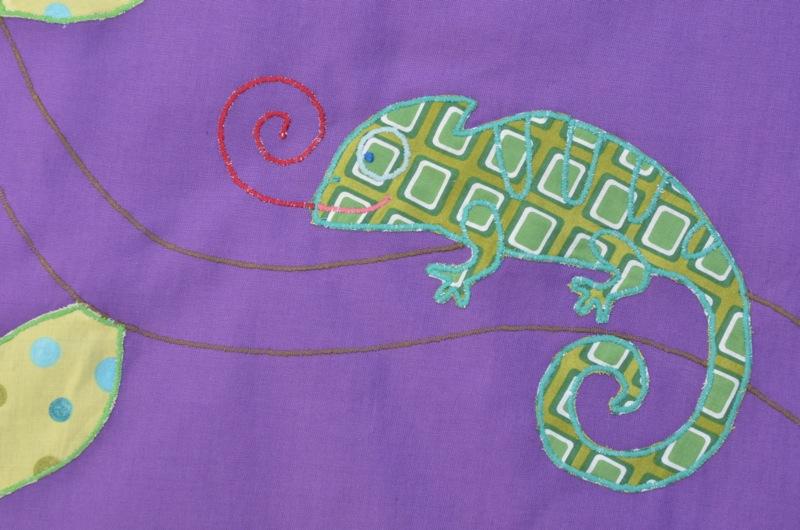 Amphitrion le caméléon
