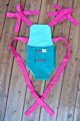 Parachute anti-reflux bleu