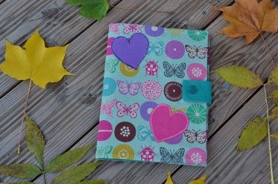 Cahier papillons