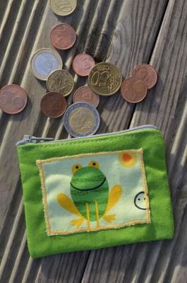 Porte-monnaie Grenouille