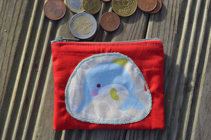 Porte-monnaie dauphin