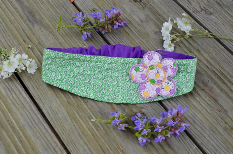 Bandeau Vert Fleur
