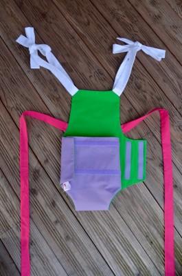 Parachute anti-reflux violet et vert