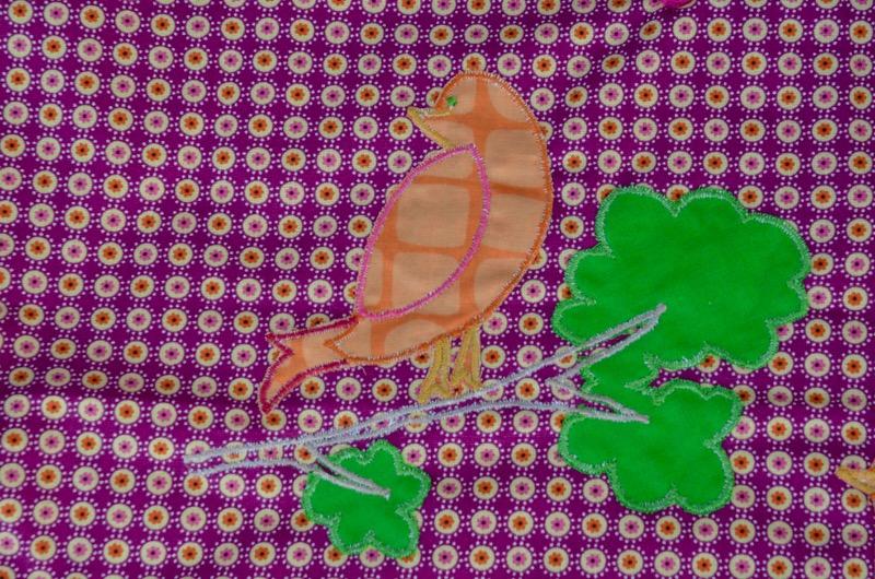 Poncho Oiseaux
