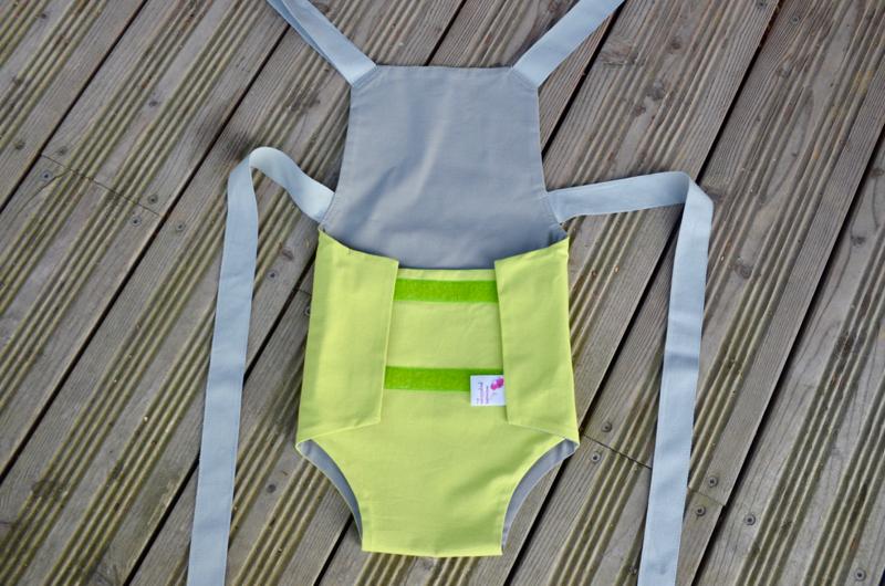Parachute anti-reflux vert et gris