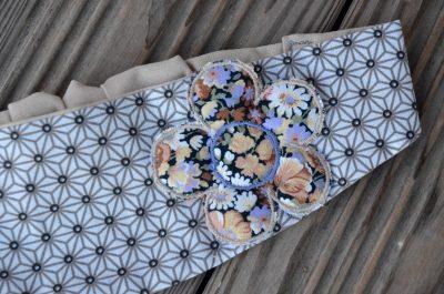 Bandeau géométrie fleur