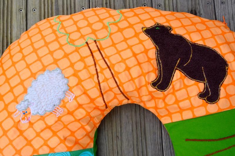 L'ours et la brebis