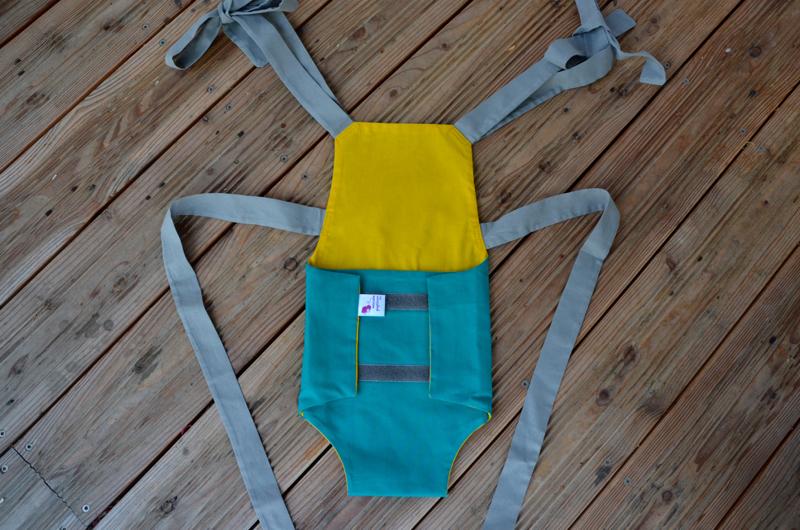 Parachute anti-reflux vert
