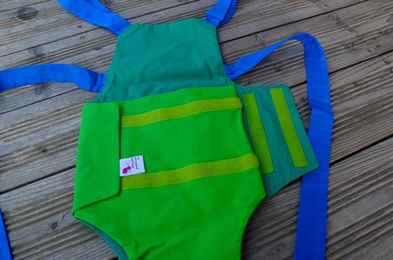 Parachute anti-reflux 2 Verts et Bleu