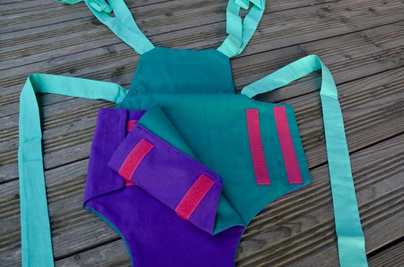 Parachute anti-reflux Bleu et Violet