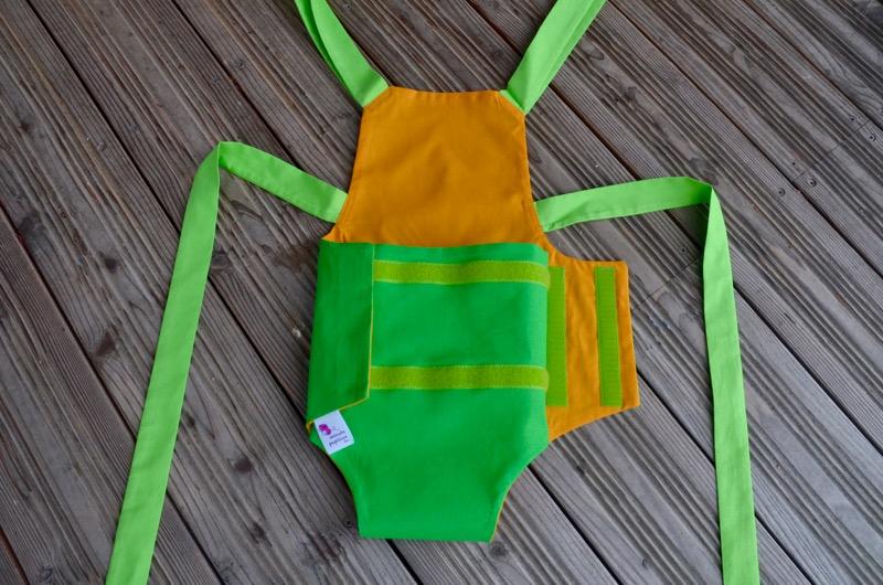 Parachute anti-reflux vert et jaune