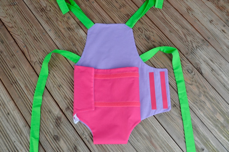 Parachute anti-reflux rose et violet