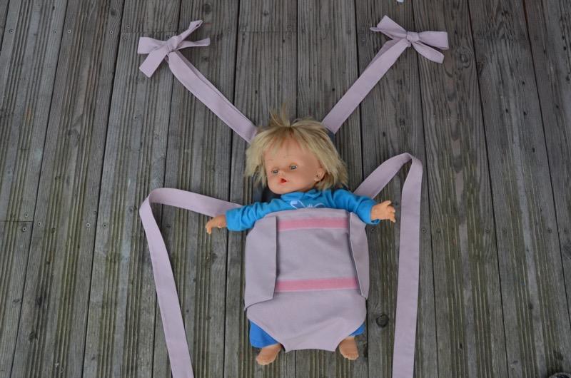 Parachute anti-reflux rose et gris